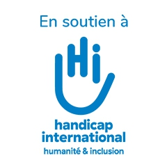 logo marque HANDICAP INTERNATIONALE