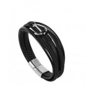 Bracelet Multi Rang Cuir