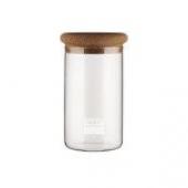 Bocal de conservation en verre, 0.6 l, couvercle lige