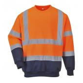 Sweatshirt bicolore HiVis