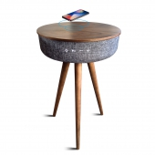 Table en bois wireless