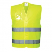 Gilet Hi-Vis avec porte-badge
