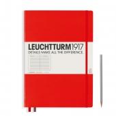 Carnet couverture rigide Master A4 Leuchtturm pages quadrillé